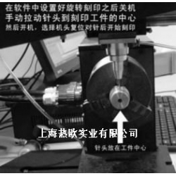 气动打码机圆周夹具OMY-1,圆柱360度旋转打标